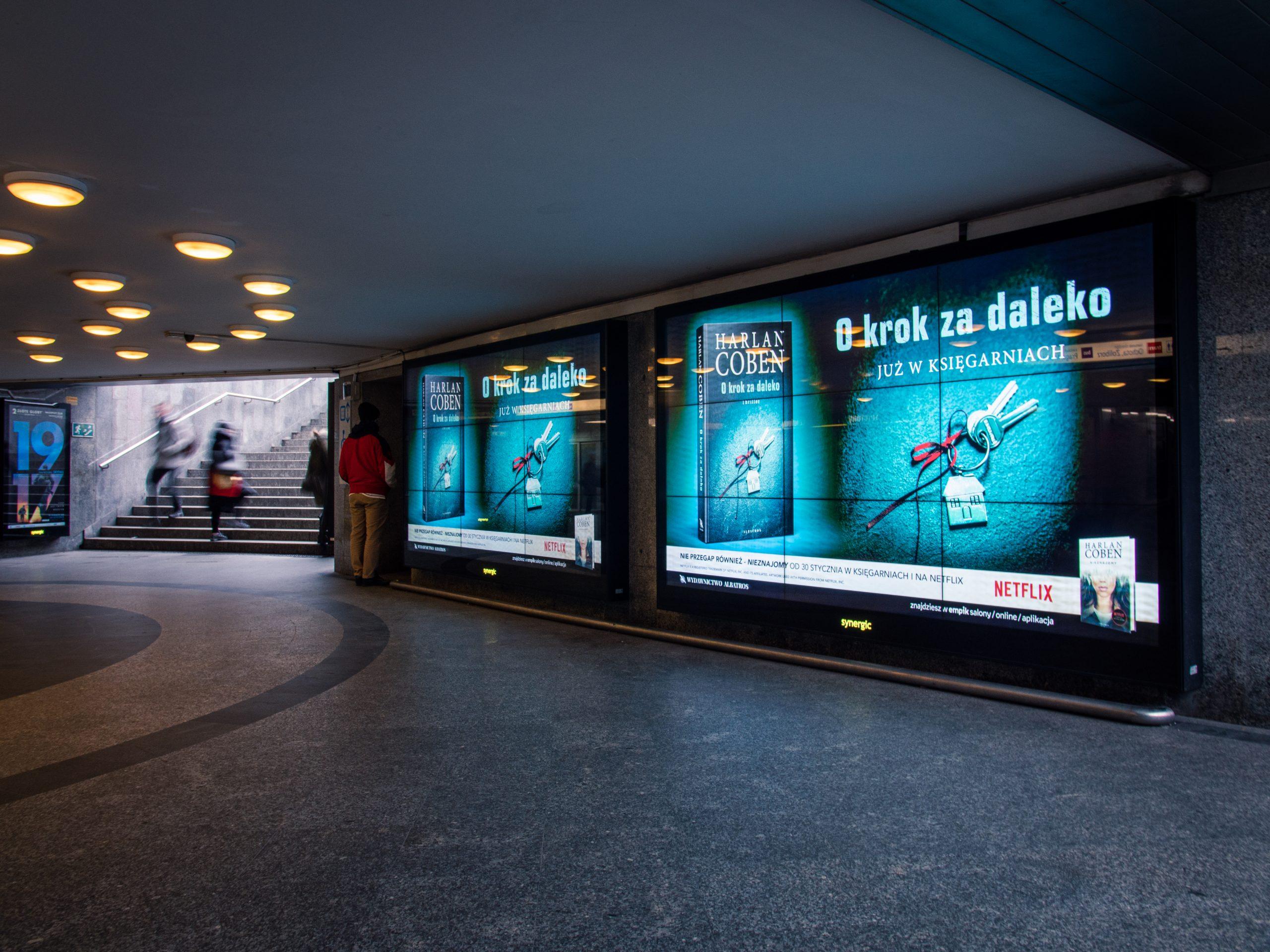 Ekrany LCD i LED w przestrzeni publicznej - Applink