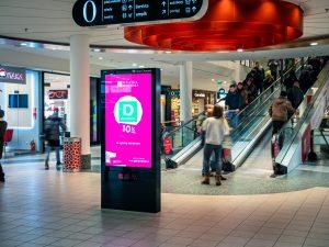 Digital Signage dla galerii - Applink